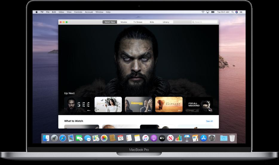 Apple TV app on macOS Catalina
