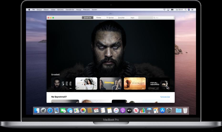 macOS Catalina'da Apple TV uygulaması