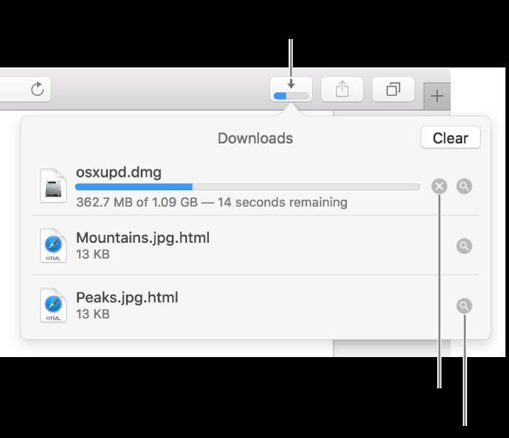 Macでsafariを使用してwebから項目をダウンロードする Apple サポート