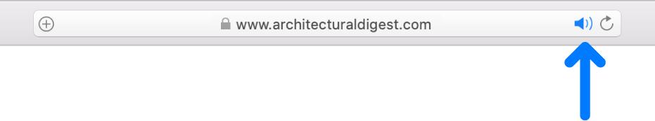 Inteligentne pole wyszukiwania zprzyciskiem Audio po prawej stronie.