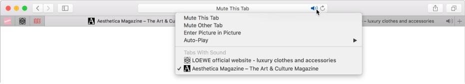 Una lista de los sitios web que reproducen audio.