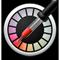 Ikon Meter Warna Digital