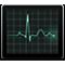 Pictogramă Monitor activitate