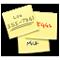Pictograma Note adezive