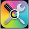 Symbol för ColorSync-verktyg