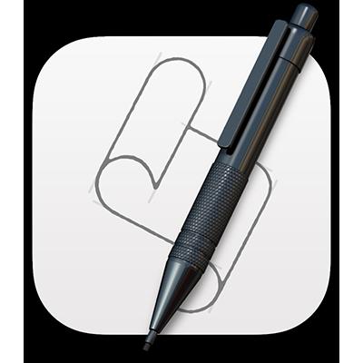 Het Scripteditor-symbool