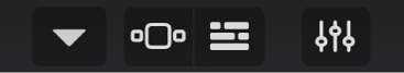 Control bar - left section