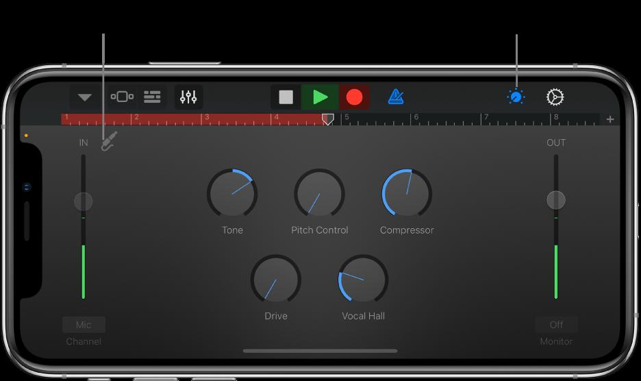 Audio Recorder Studio View
