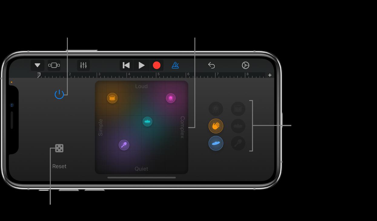 Instrument tactile SmartDrums