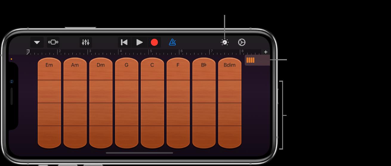 Instrument tactile cordes