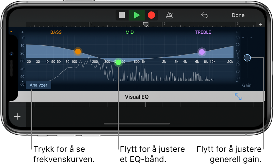 Visuell equalizer