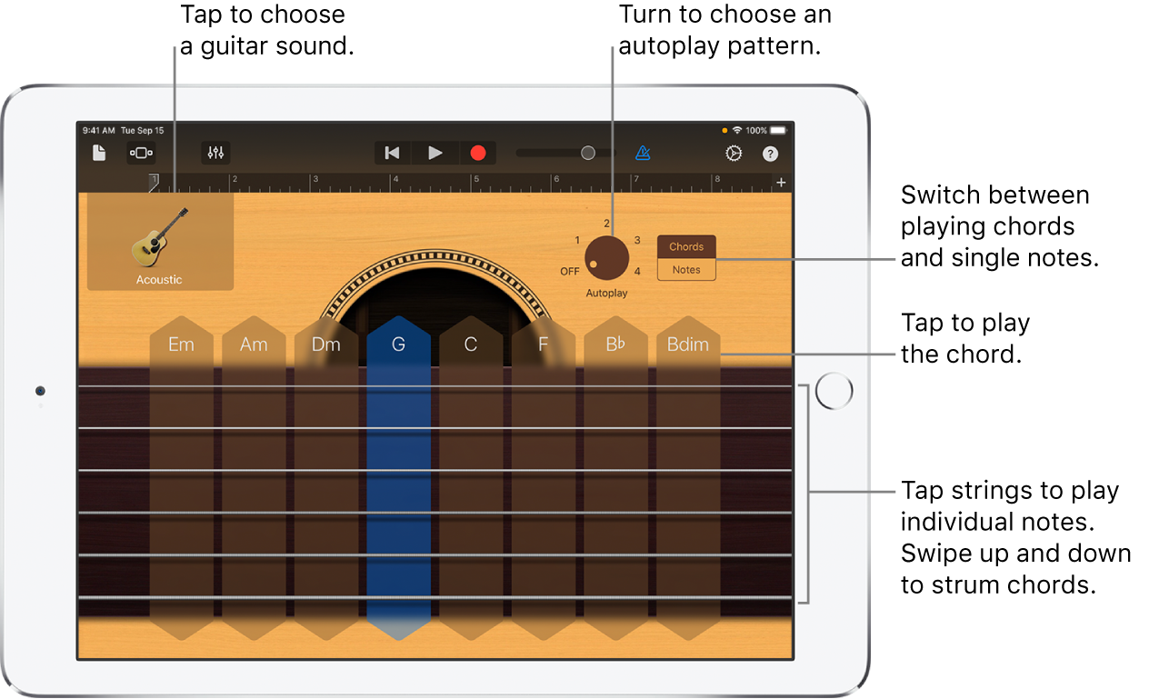 Guitar Touch Instrument