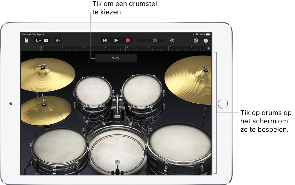 Touch-instrument Drums