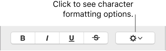 The Advanced Options checkbox next to Bold, Italic, and Underline buttons.