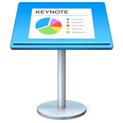 Значок программы Keynote
