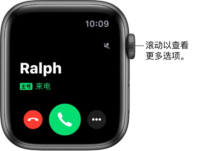 小技巧:通过 Apple Watch 将 iPhone 通话或通知静音