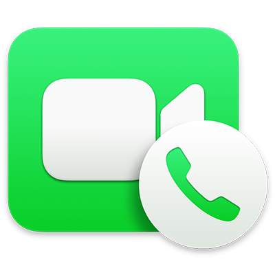 Foreta og motta telefonsamtaler i FaceTime på Macen Apple