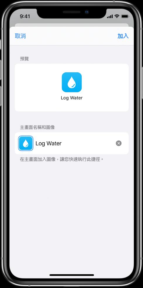 Safari 中顯示的「加入主畫面」按鈕。