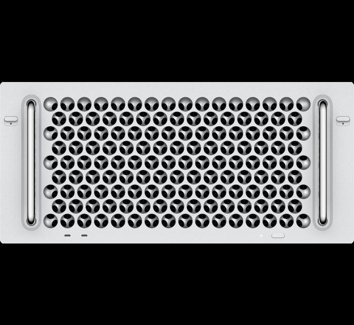 Afbeelding van een MacPro (rack-configuratie).