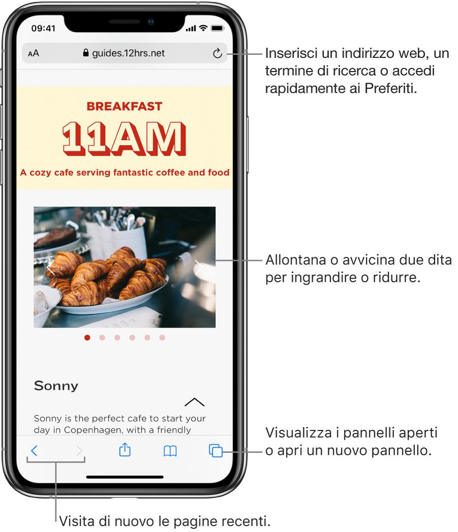 Ricerca Per Immagini Mobile navigare sul web utilizzando safari su iphone - supporto apple