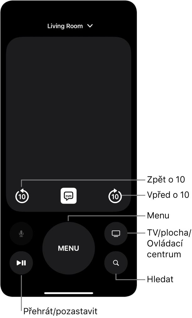Aplikace Ovladač