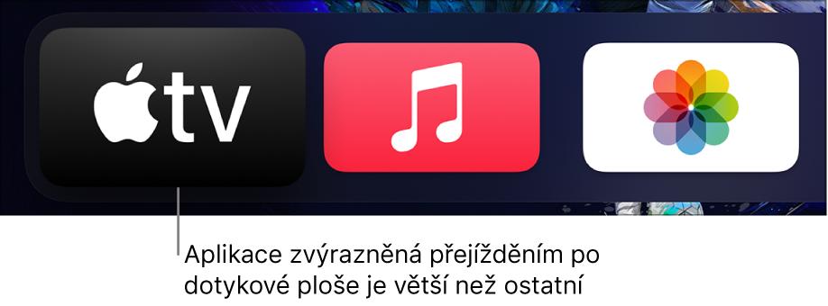 Vybraná aplikace na ploše