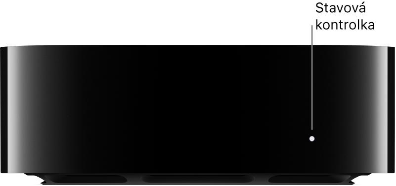 AppleTV spředvedeným stavovým indikátorem