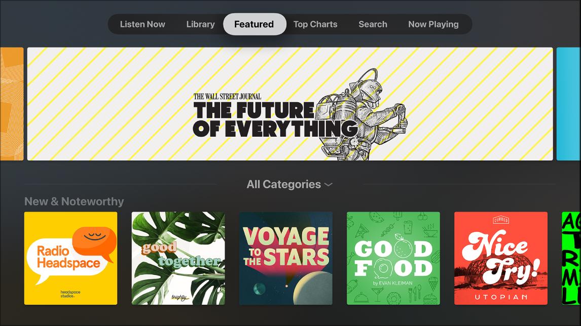 Εφαρμογή Podcasts