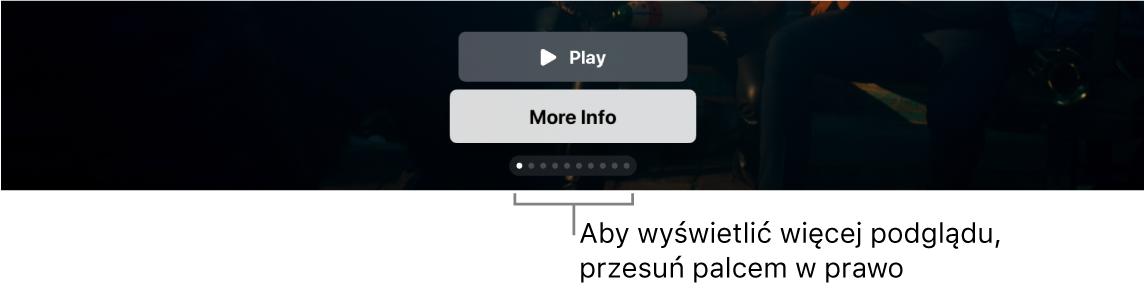 Dodatkowe narzędzia podglądu na ekranie początkowym