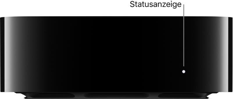 AppleTV mit Statusanzeige