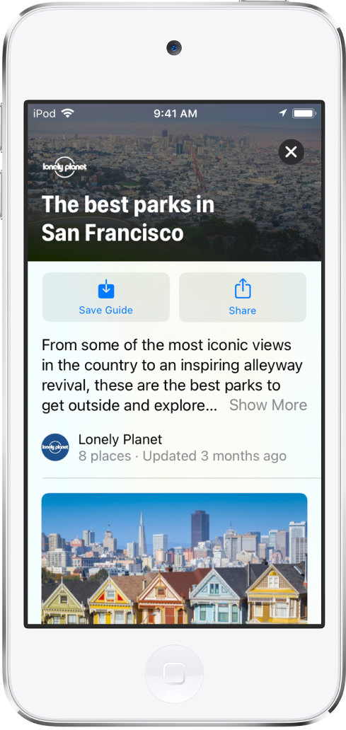 Útikalauz San Francisco parkjaihoz.