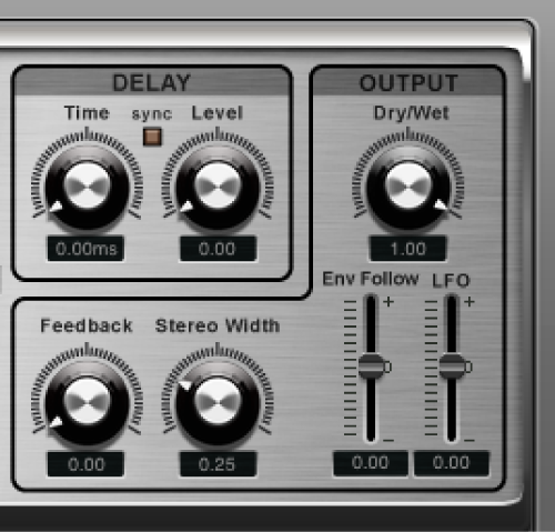 The Ringshifter Output controls.