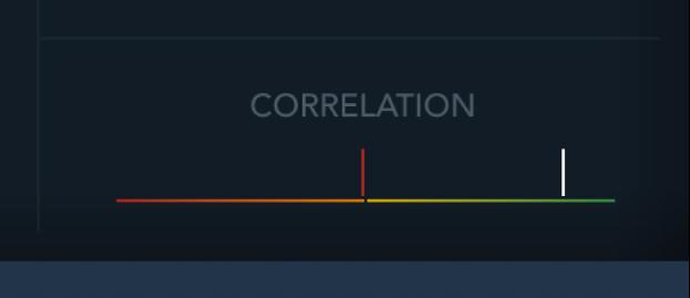 The Multimeter Correlation meter.