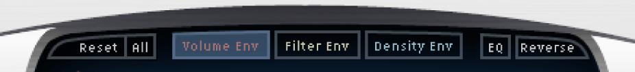 The Space Designer button bar.