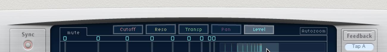 Delay Designerの表示ボタン。