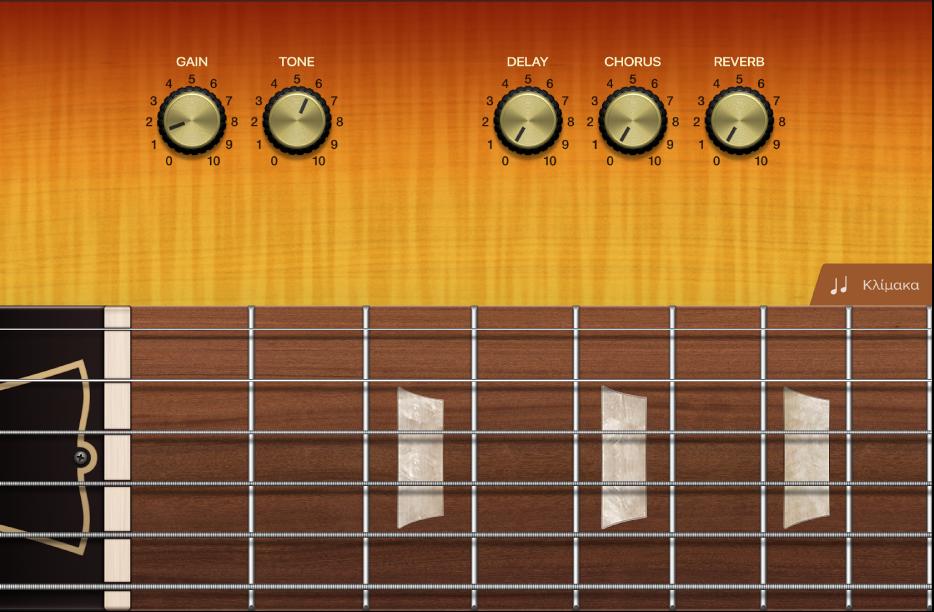 Εικόνα. Όργανο αφής κιθάρας.