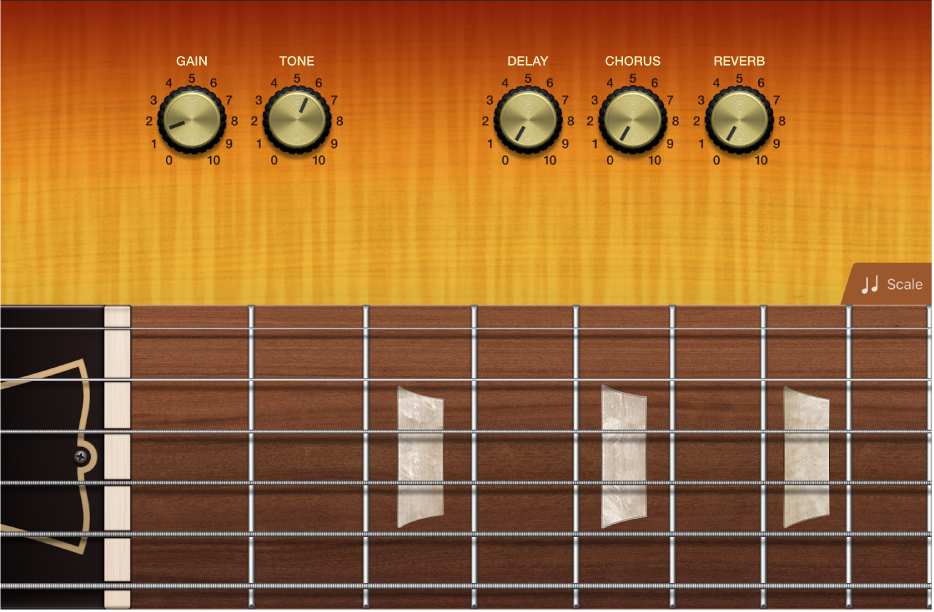 Figure. Guitar Touch Instrument.