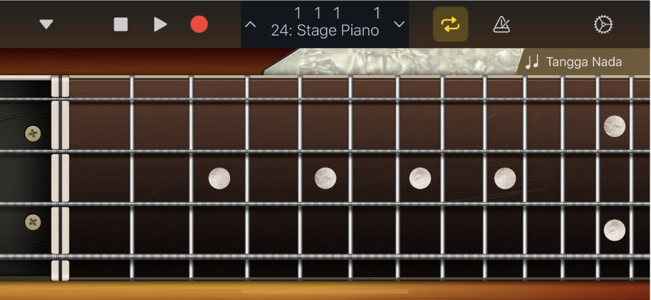 Gambar. Instrumen Sentuh Bass.