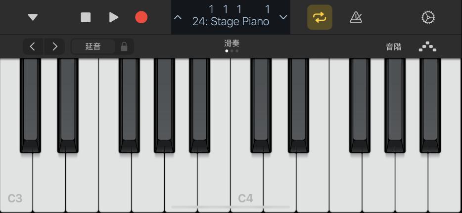 圖表。鍵盤觸碰式樂器。