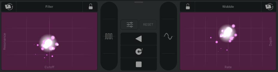 Remix FX controls.