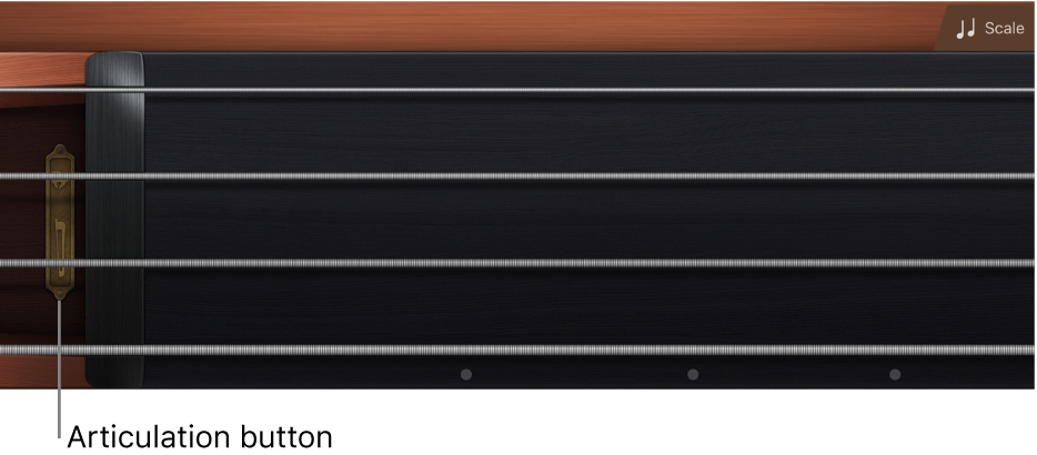 Figure. Strings fingerboard.