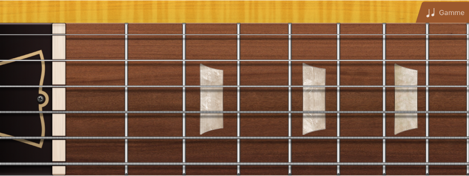 Figure. Touches de guitare.