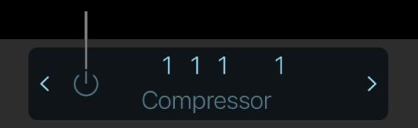 Figure. Affichage du bouton Ignorer dans la barre des commandes.