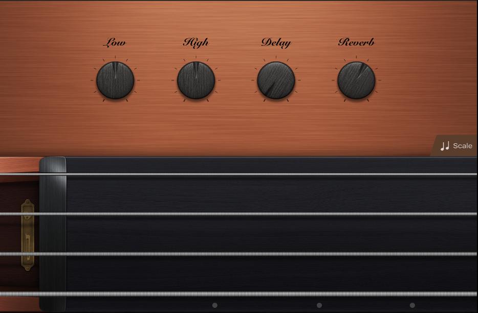 図。弦楽器のTouch Instrument。