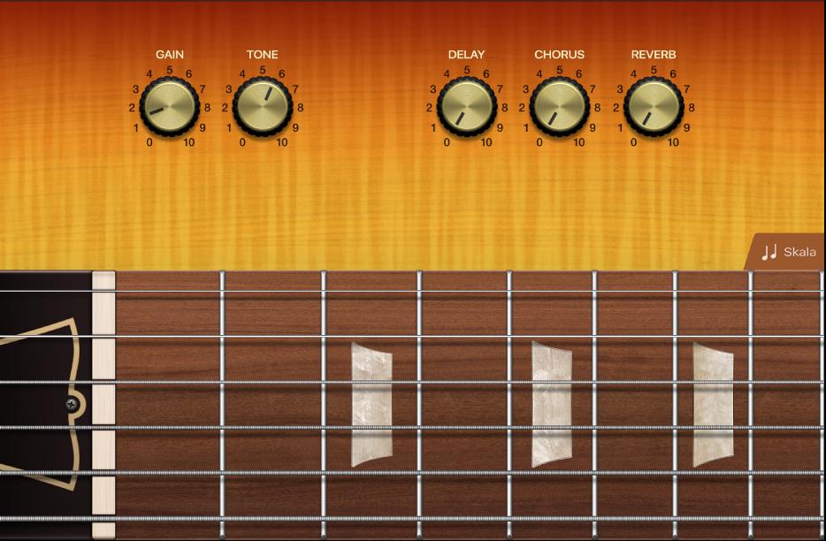 Figur. Touch-gitarinstrument.