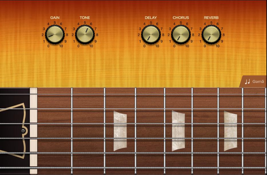 Figură. Instrumentul tactil chitară.