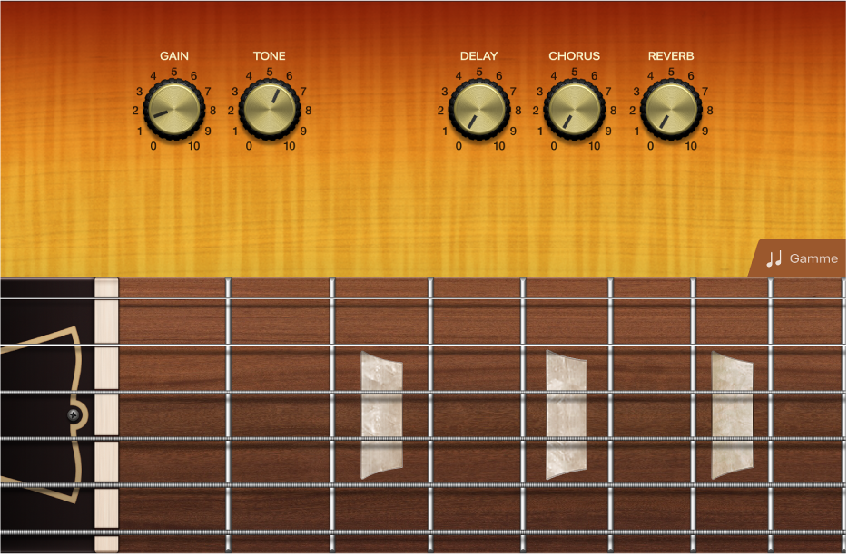 Figure. Instrument tactile Guitare.