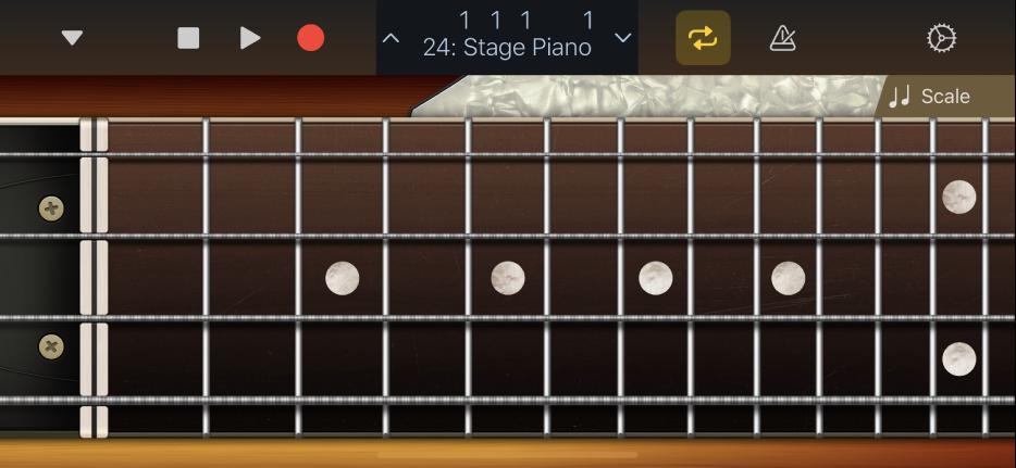 Figure. Bass Touch Instrument.