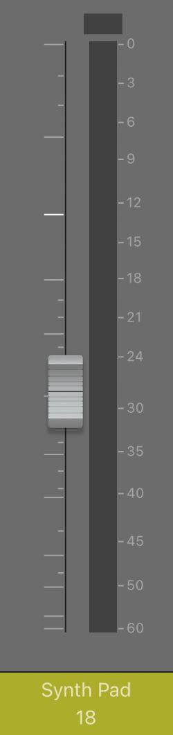 .आकृति। वॉल्यूम फ़ेडर।