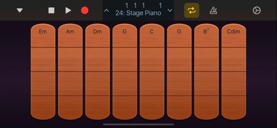 圖表。弦樂器和弦條板。